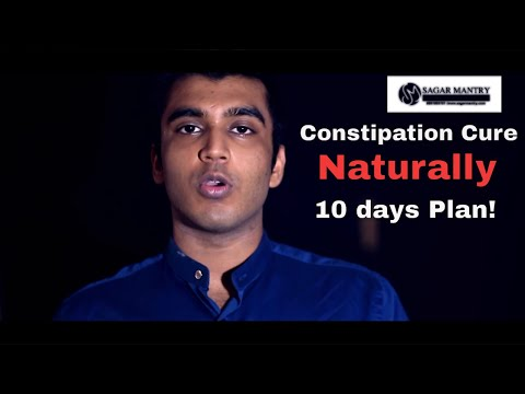 Permanent Cure for Constipation ( it is not what you think it it) by Sagar Mantry