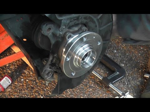 Replacing 2006 VW Jetta MK5 Front Wheel Hub Bearing