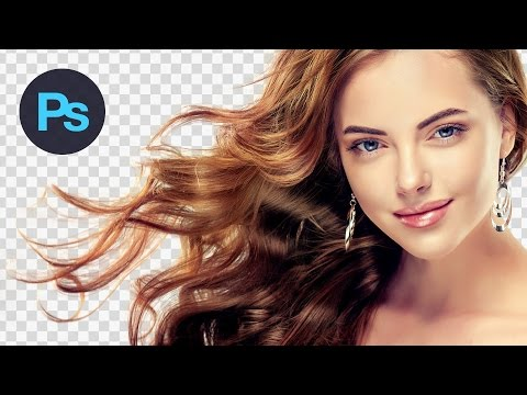 How to Cut Out Hair in Photoshop Tutorial