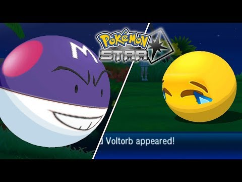 Alolan Voltorb & Electrode Showcase in Pokémon Star (3DS Rom Hack)