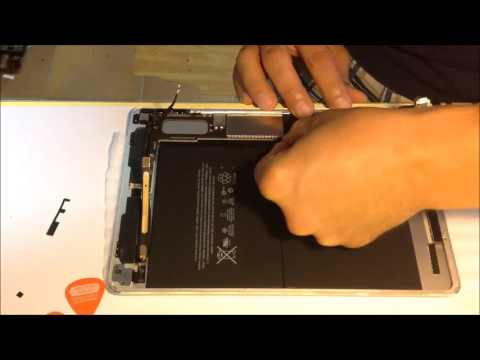 iPad air 2 how to replace motherboard sostituzione scheda madre lcd