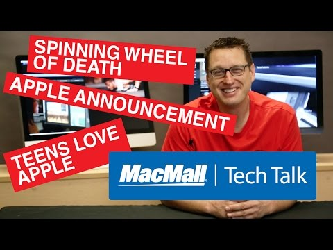 Tech Talk #10 - Spinning wheel of death, Where to watch Apple event, Teens love Apple