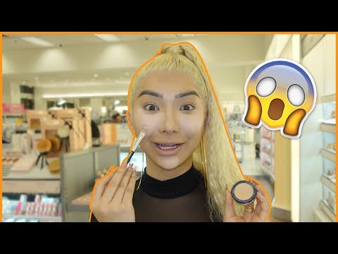 FULL FACE Using ULTA Tester Makeup!? | Nikita Dragun