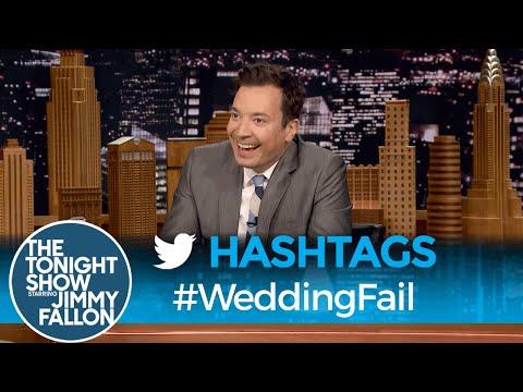 Hashtags: #WeddingFail