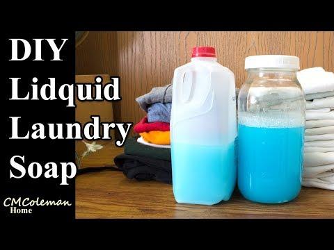 Easy To Make Liquid Laundry Soap