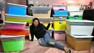 Download i made 150+ GALLONS of Slime (whats new?) Video