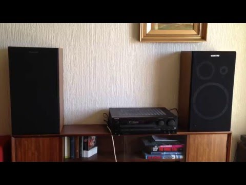 Kenwood KR-A4070 Integrated Stereo AM-FM Receiver Amplifier Demo