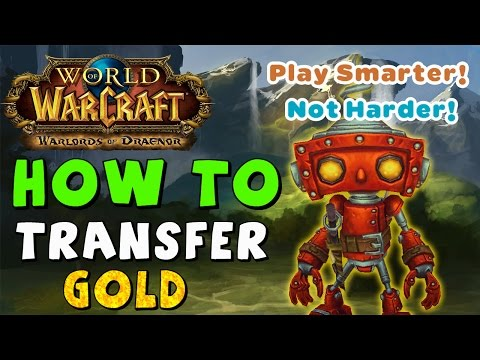 Move Gold Between Servers and Factions in World of Warcraft WoW