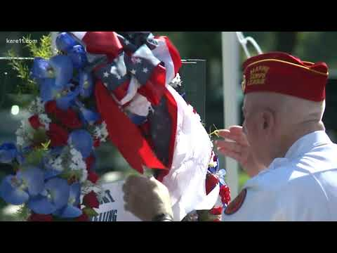 Fort Snelling holds Memorial Day service
