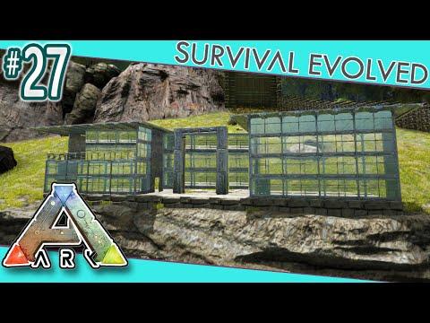 ARK: Survival Evolved - Modern House Build!  S3E27