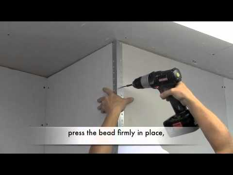 How to Install Metal Drywall Corner Bead
