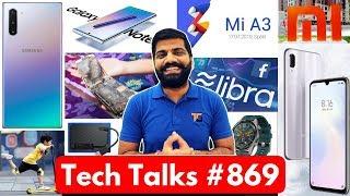 Tech Talks #869 - Realme 5 Launch, Mi A3, Huawei Watch GT, Exynos 9825, Redmi Note 7 New Color