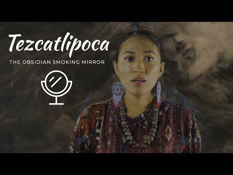 Tezcatlipoca The Obsidian SMOKING MIRROR