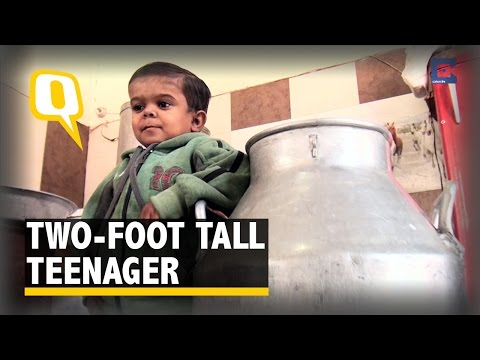 Meet This Two-Foot Tall Teenager