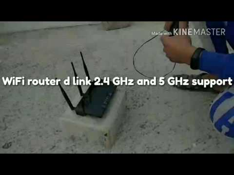 WiFi router outdoor .... Signal quality check