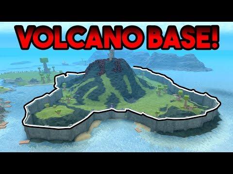 VOLCANO BASE! | ROBLOX: Booga Booga