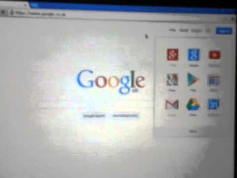 Google Top Black Menu Bar is Missing