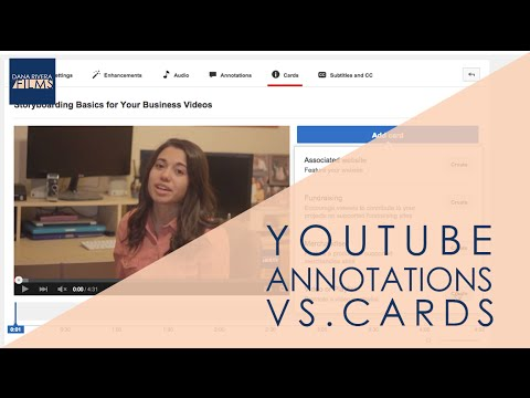 Youtube Cards vs. Annotations