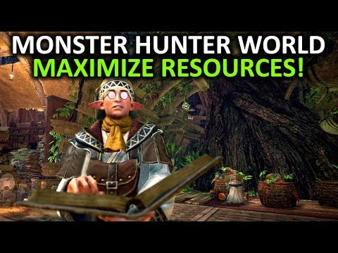 Monster Hunter World Tips - Maximize Your Resources ( Botanical Research Center Fertilizer Guide )