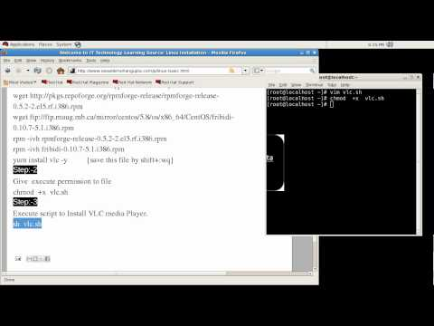 installing vlc media player in Linux