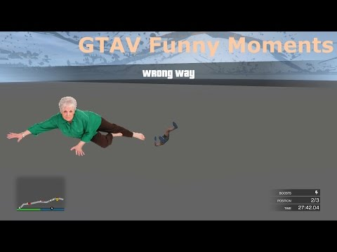 GTAV Funny Moments (Life Alert)