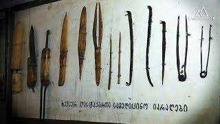 ხევსური დასტაქარი, რომელიც თავის ქალის ოპერაციებს ხელნაკეთი იარაღებით აკეთებდა
