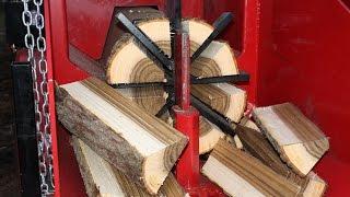 Wood Beaver Model 20 BAB Fastest Firewood Processor 2015