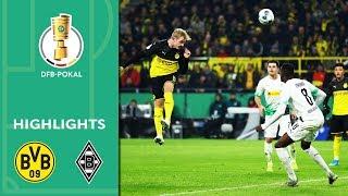 Borussia Dortmund vs. Borussia Mönchengladbach 2-1 | Highlights | DFB-Pokal 2019/20 | 2nd Round