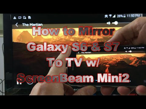 Galaxy S6 & S7: Screen Mirror Wirelessly | NetFlix, Amazon Video, HBO Go, Google Movies