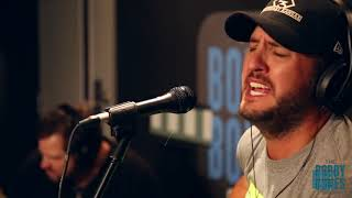 Luke Bryan Plays His New Single For Joy Week 2017