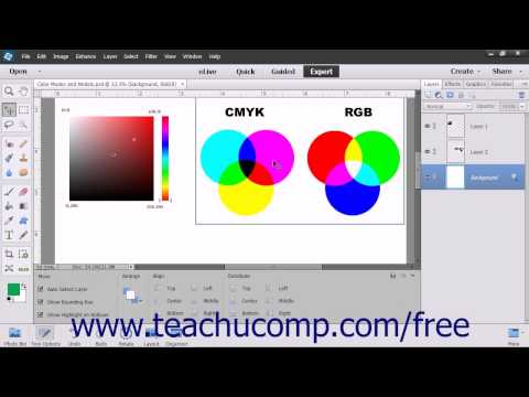 Photoshop Elements 13 Tutorial Color Modes & Models Adobe Training