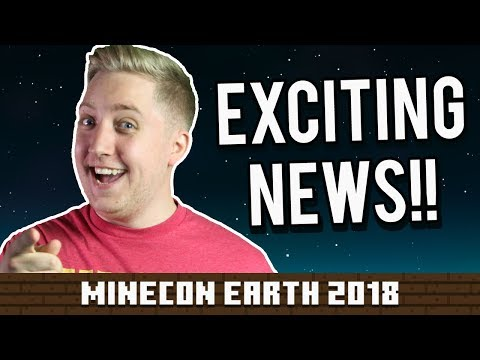 EXCITING NEWS!! - Minecon Earth 2018 #AD
