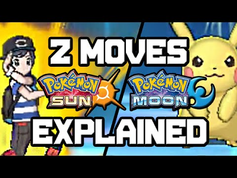 Z Moves Explained! Pokemon Sun And Moon