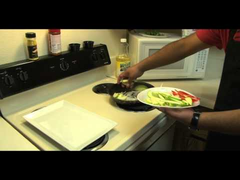 How to make a Chicken Breast with a Apple,Onion & Peppers Stir Fry