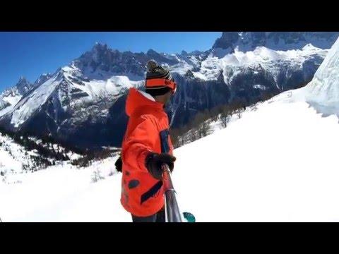 Chamonix Snowboarding 2016 HD (Grands Montets, Brevent, Charles Bozon)