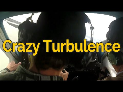 Crazy Turbulence After Take Off   Student Pilot   Full Audio