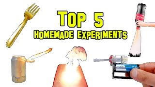 Download ✔ TOP 5 Best Homemade Experiments Video