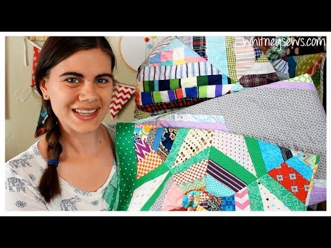 Finishing Quilts and Starting More   Sew Your Stash   Whitney Sews
