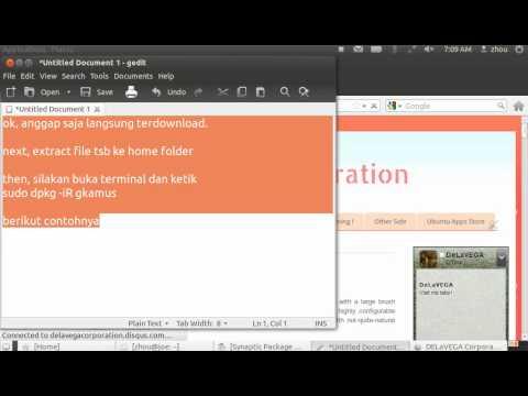 How To Install Software {Offline Installer} in Ubuntu 12.04