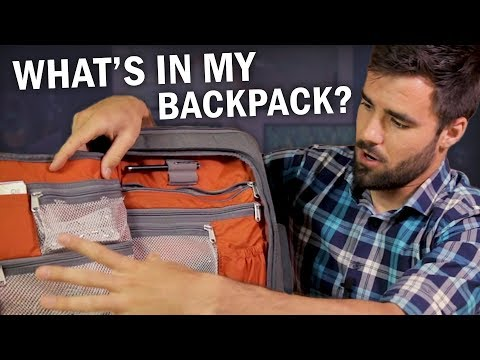 What's In My Backpack? - Fall 2017 Edition