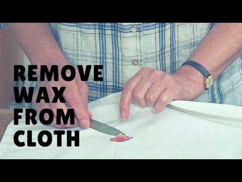2 easy ways to to Remove Wax from Clothing