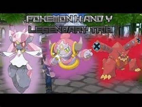 How to get SHINY! Hoopa and Volcanion in Pokemon X and Y