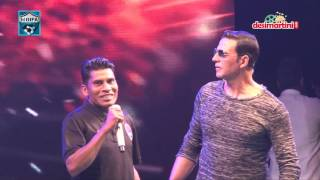 HT Gifa II Opening Ceremony II Akshay's dialogue with DD Army guy