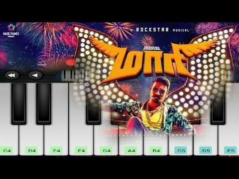 Maari Swag Theme Music   Maari   Danush   Anirudh   Tamil Movie   Mobile Piano
