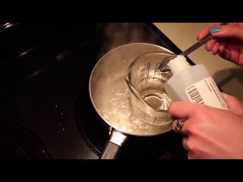 DIY Light Emulsifying Lotion