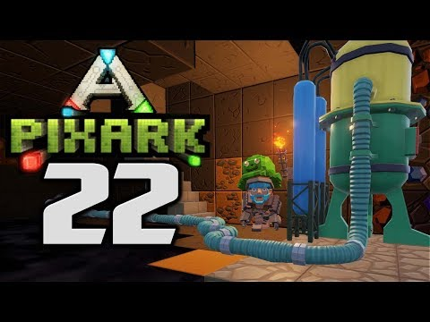 PETROLEUM SLIME INCUBATOR! - Let's Play PixARK Gameplay Part 22 (PixARK Pooping Evolved Building)