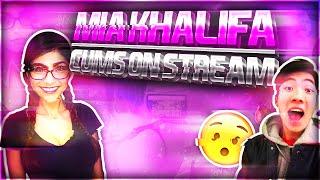 Mia Khalifa comes on stream!(RiceGum)