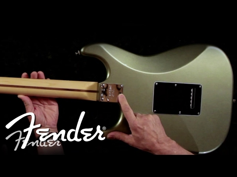 How To | Micro-Tilt Adjustment & How it Works | Fender