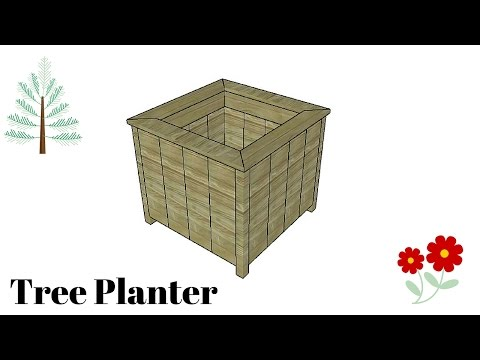 DIY Tree Planter Plans