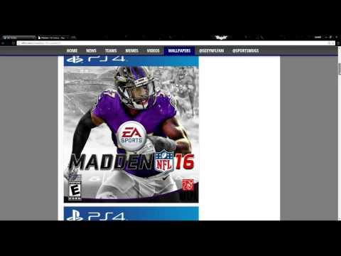 Madden NFL 16- Custom Madden 16 Covers! EVERY TEAM!